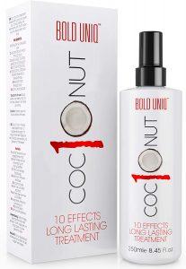 Bold Uniq - Spray Termoprotettore Capelli al Cocco